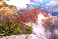 Grand Canyon  Morning Mist